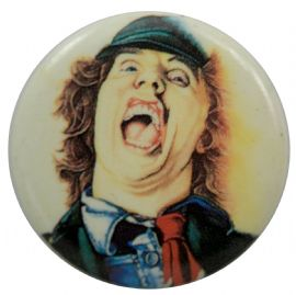 AC/DC - 'Angus Sketch' Button Badge